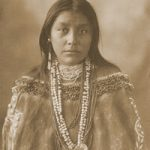 Apache woman, Hattie Tom